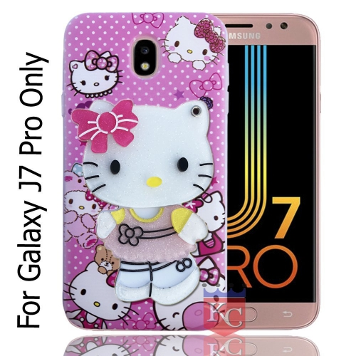 reputable site a315c 4d149 Mirror Pink Doll Thin Glitter For Back Cover Galaxy J7 Pro - Pink